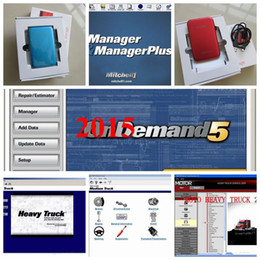 Wholesale Manual Mitchell - HOT!!! 2015 Mitchell ondemand for car and truck manual 161GB +heavy truck + moto heavy truck+Ultramate +manager plus in 320GB HDD