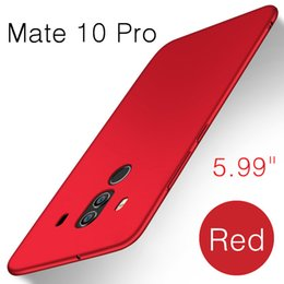 Wholesale Pro Mates - Lightweight Ultra Thin Silk Touch Hard PC Back Cover Case for Huawei Mate 10 Pro