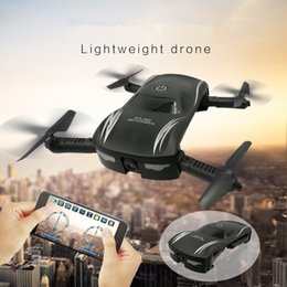 Wholesale kids electronic cars - New arrived X185 Floding Drones Electric Car Selfie Drone With HD Camera Shantou Toys Drone Kids Electronic Toy Car