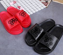 Wholesale Flat Furniture - Fashion NEW Hot Style rubber PU leisure flat anti-skid furniture sandals women's shoes New Women Summer Sandals - Free Shipping + Free Gift