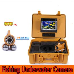 "Wholesale Sharp View Camera - 150ft 50m Underwater Fishing Video 600TVL CCD waterproof Camera finder 0-360° View rotative Diving camera 7.0"" TFT LCD Monitor"