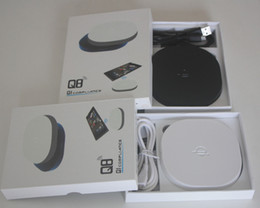 Argentina Q8 cargador inalámbrico QI cargador inalámbrico estándar Apple 5s 6plus Samsung S4 S6 Nokia Q8 carga inalámbrica Al por mayor supplier qi wireless charger s4 wholesale Suministro