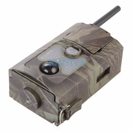 Wholesale Scout Camera Mms - HC-500m Gprs MMS Email Notification Scouting Hunting Camera Digital Infrared Trail Camera 12MP HD Video Cameras 2.0 Inch LCD