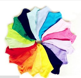 Wholesale Colored Cotton Ankle Socks - Wholesale Candy color ship socks socks Invisible socks thin style Candy color solid-colored socks Korean students socks free shipping