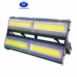 Wholesale wall station - High Power 200W Flip COB Ultrathin Floodlights 20000lm AC110V 220V Module LED Cast Light IP66 for Tunnel Gas Station and Outdoor Lighting
