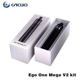 Wholesale Electronic Cigarette Joye Ego - Joyetech Ego One Mega V2 Electronic Cigarettes Joye Ego One Mega V2 Vaporizer Excellent Adjustable Airflow E cigarette