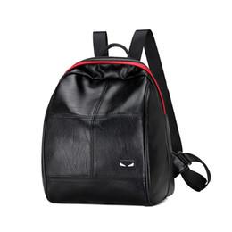 Wholesale Leather Satchels Cheap - Black Bag Women Designer Fashion Cheap Little Monster Hot Sale New Arrive Cheap Moest Fashion Ladies Girls Bags