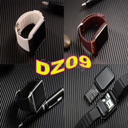 Последние смарт-часы DZ09 Bluetooth поддержка SIM-карты 1.56 дюймов Smartwatch для Apple Samsung IOS Android Smart phone Watch U8 Бесплатная доставка от Поставщики дюймы bluetooth умные часы