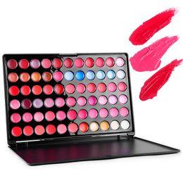 Wholesale Multicolor Lipstick - Best Multicolor Brand Makeup Lip Tint 66 Colors Lip Gloss Professional Maquiagem Lipstick ree shipping DHL 60220