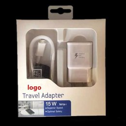 Wholesale Wholesale Iphone Travel Kits - 2 in 1 fast Chargers kit 2A USB 2.0 Travel Wall Adapter + Micro usb Cables with Retail Boxes for Samsung iPhone 300pcs