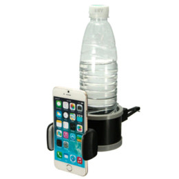 Wholesale Vent Air Bottles - Newest Adjustable Multifunction Universal Car Air Conditioning Vent Drink Bottle Mobile Phone Mount Holder Bracket For iPhone 6