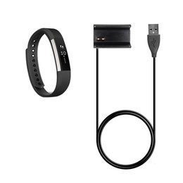 Wholesale Smart Power Cable - 30CM Fitbit Alta Replacement USB Charger Cable Power Adapter Clamp Clip Charging Dock With Reset Function For Fitbit Alta Smart Watch