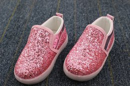 Wholesale Toddler Girl Gray Boots - Baby Girls boy LED Light Shoes Toddler Anti-Slip Sports Boots Kids Sneakers Children Cartoon Sequins Casual Shoes