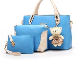 Wholesale Portable Flower Shop - HB072 Fashion Luxury Women Bag Should PU Handbag Casul Shopping Birthday Gift Girls Lovey Bag Cute Portable Bag Free Fast Ship