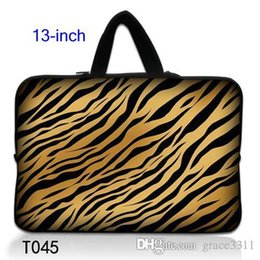 """Wholesale Tiger Stripe Bag - Tiger Stripes 13"""" 13.3"""" Laptop Notebook Sleeve Case Bag Pouch Cover For Macbook Pro   Air"""