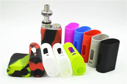 Wholesale Sleeve Boxes - 20pcs Istick Pico Silicone Case Silicon Cases Colorful Rubber Sleeve Protective Cover Skin For iSmoka Eleaf Istick Pico 75w Box Vape Mod Kit