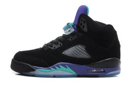 Wholesale Marks Shoes - Air retro 5 V Olympic OG metallic Gold Tongue men Basketball Shoes Black Metallic Space jam Fire Red Mark Ballas Sport shoes Sneakers