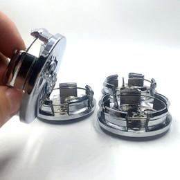 Wholesale Wholesale Chrome Rims - 64mm Chrome Wheel Center Centre Hub Caps Emblem Rim Accessories For JEEP Grand Cherokee Wrangler Liberty Compass