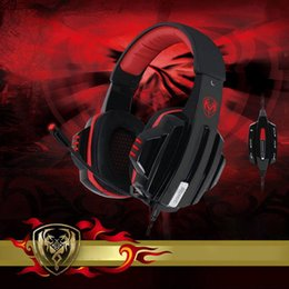 Wholesale Somic Microphone - 2016 Hot sale Somic G95PRO Vibration 5.1 USB game Stereo Headphone with microphones Volume Control gaming Headset Earphones