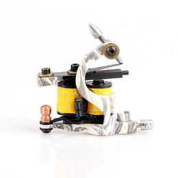 Wholesale Tattoo Shader Machine For Sale - Hot Sale Colorful Handmade Cast Iron Tattoo Machine Shander 10 Wrap Coils Tattoo Gun for Kits TM8376