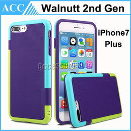 Wholesale Iphone Generation Cases - For iPhone 7 Plus Walnutt 2rd Generation Soft TPU Case Cover Shockproof For iPhone 5S 6 6S 7 Plus Galaxy S6 Edge Plus Note 5 4 3 DHL 500pcs