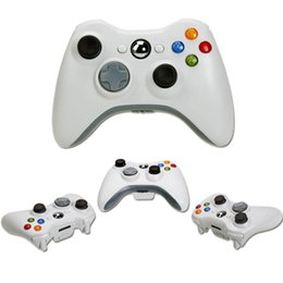 Wholesale Xbox Game Wholesale - New Xbox 360 White Black Wireless Game Remote Controller for xbox Laptop computer PC Games with retail box