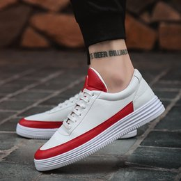 Wholesale Korean Winter Shoes - 2017 Autumn and Winter New Men's Casual Shoes Trend Luxury Shoes Korean Version of Low-top Youth Joker Designer White Shoes