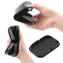 Yeni Araba kaymaz Telefon Tutucu Ped Kauçuk Mobil Sabit Dashboard Telefon Raf Nemli Yerleşimler Mat GPS MP3 DVR Araba-styling Için Sıcak nereden