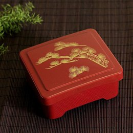 Wholesale Touring Package - Dinnerware Set Janpanese Style Bento Lunch Box Eel Rice Sushi Catering Portable Food Container Free Shipping ZA4311