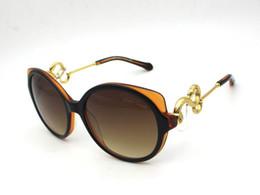 Wholesale Ladies Rimless Polarized Sunglasses - Roberto'S Ladies Sunglasses 1035 Gold Snake Design Shield Sunglasses with original box gafas de sol oculos