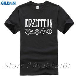 Wholesale Hip Hop Led T Shirt - 2017 Summer Casual Cotton Camisetas Men Led Zeppelin Rock Zoso Band T-Shirts Short Sleeve Harajuku Hip-hop Top Tee Shirt Homme