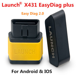 Wholesale Launch X431 Android - 100% Original Launch X431 EasyDiag Plus 2.0 OBDII Code Reader for Android ios easy diag with 2 Free Vehicle Software