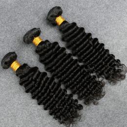 Роза бразильские волосы глубокой волны онлайн-Slove бразильские девственные волосы вода волна Роза продукты волос 3 пучки 7а бразильский глубокая волна вьющиеся влажные и волнистые девственные бразильские волосы