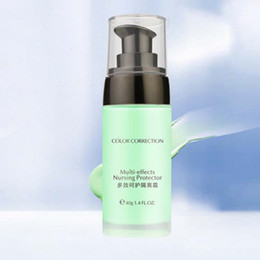 2020 grünes make-up Großhandels-Poren-Abdeckungs-Verfassungs-Basis-Grundlagen-Gesichts-Zündkapsel Mattieren glättende Haut-Grün-STA günstig grünes make-up