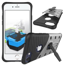 Wholesale Unique Clip Cover - New Arrival Unique Case For Apple iphone8 6 6s 6 6s plus   7 7plus Phone Case 360 Rotating Amor Heavy Duty Case Anti-Knock Protective Cover