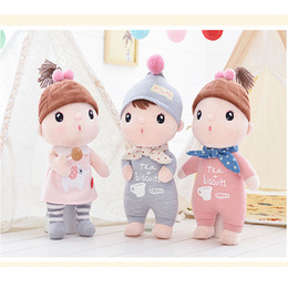 Wholesale Toys Tricycle - toy tricycle Metoo Sugar Bean girl Stuffed Soft Animals Angela Plush Toys Sleeping Dolls kids Child Birthday cute lovely Gifts Free Shipping