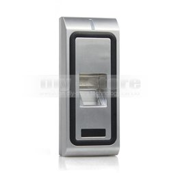 Wholesale Rfid Fingerprint Access - Fingerprint Access Controller 125KHz RFID ID Card Reader Keypad 2 In 1 + Remote Control Kit Metal Case CFR10