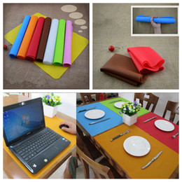 Wholesale Pets Recycling - 40*30cm Silicone Oven Bake Baking Sheet Mat Liner Pad Pastry Rolling Mat Nonstick Baking Mat Pad OOA3157