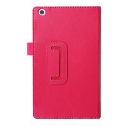tableta tab3 Rebajas PU Funda de cuero para Lenovo Tab3 8.0 TB3-850F TB3-850M 850F 850M Tablet 8