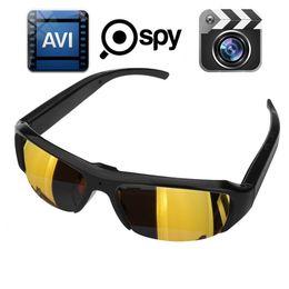 Wholesale Spy Sunglasses Black - 1080p 30fps Spy Hidden DVR Camera Camcorder Eyewear Sunglasses Video Recorder DV CAM Gold Black Lens