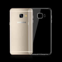 Wholesale Top Note Cases - For Samsung Note 7 Top Quality Transparent Gel Case Clear Soft TPU Phone Back Cover for Galaxy S7 edge Note7 A310 A510
