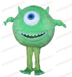 Wholesale Mike Wazowski Mascot Costume - AM0559 Mike Wazowski Mascot costume costumes fur mascot advertising