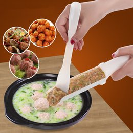 Formenbaumaschinen online-Bequem DIY Meatball Maker, Der Maschine Set Fisch Ball Burger Mold Home Küchenwerkzeuge Kochwerkzeug IC622