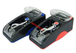tappo di tabacco Sconti 1 pz Elettrico Automatico Sigaretta Rolling Machine AUTO Tobacco Iniettore Maker Roller EU Plug foglia erba rotolamento tubo di carta di riempimento