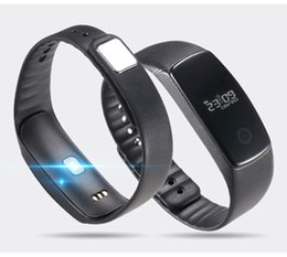Wholesale Via Gps - 2017 Hot New Smart Fitband Wristband Heart Rate Monitor Bluetooth Bracelet 2017 New Technology Free Shipping Via Epacket Mobile Accessories