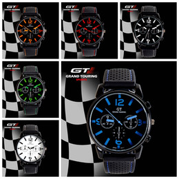 Wholesale Mens Watches Car - Fashion GT F1 Racing car silicone watch unisex mens women quartz amry sport jelly Military outdoor silicone wrist watches for men BY DHL