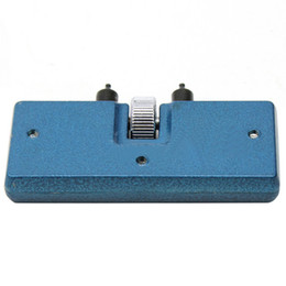 Wholesale Battery Wrench - Adjustable Useful Blue Watch Battery Change Back Case Opener Remover Screw Wrench Repairing Tool Kit
