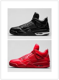 Wholesale Patent Leather Shoe Paint - Wholesale High Quality mens Basketball shoe retro Lab 4 Coat of paint Sneakers training shoes Size 8-13