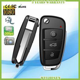 Wholesale Dvr Full Hd Key - Full HD 1080P hidden car key camera with IR night vision Motion Detection Mini DV DVR S820 spy Keychain hidden camera video recorder