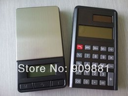 Wholesale Pocket Calculators - 100g x 0.01g Digital Electronic Pocket Scales LCD Portable Jewelry Scale Balance With Calculator Free Shipping